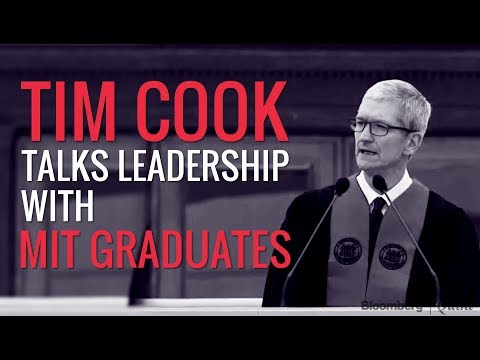 5 Key Moments from Tim Cook's Commencement Speech At MIT