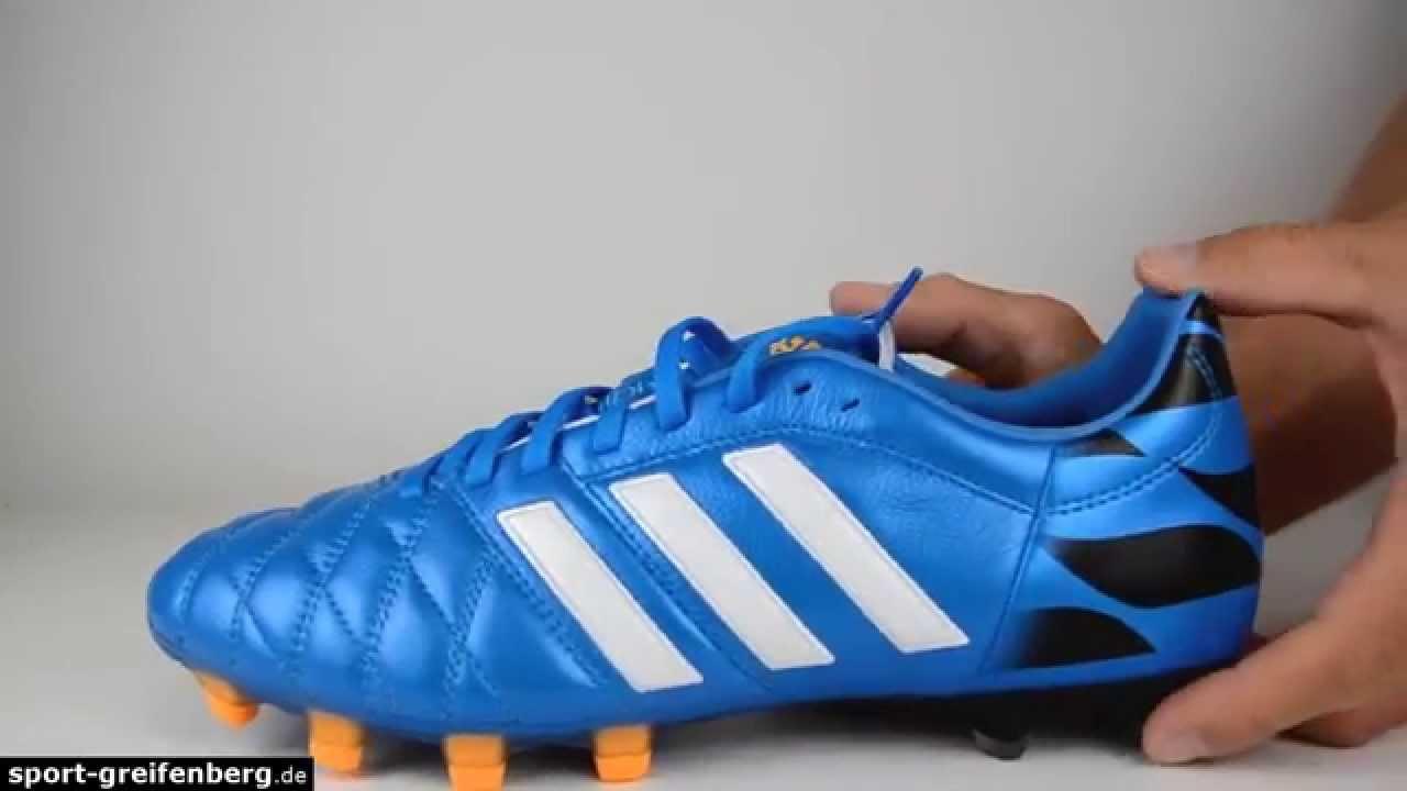 adidas 11pro trx fg fußballschuhe weiß schwarz blau