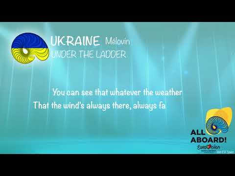 MELOVIN - Under The Ladder (Ukraine) [KARAOKE VERSION]