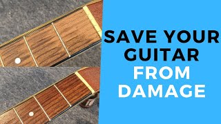 SAVE YOUR GUITAR From Damage - How To Restring An Acoustic Guitar Properly