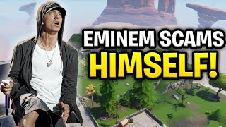 Eminem Scammer Scams Himself! *MUST WATCH* (Scammer Gets Scammed) Fortnite Save The World