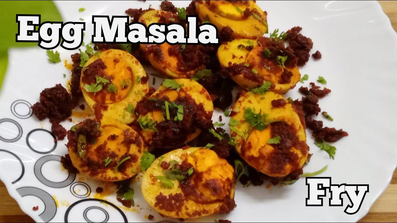 Egg Masala Fry | Tawa Fry | Simple Side Dish