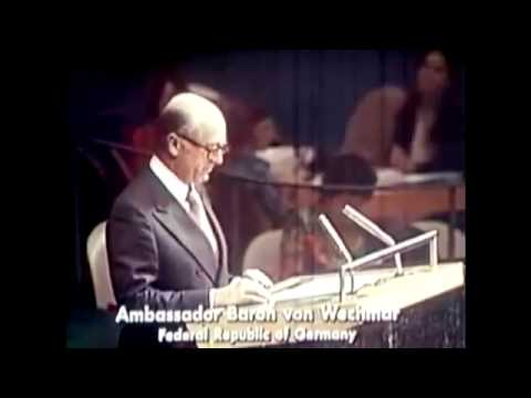 "1975 UN Debate on ""Zionism is Racism"""