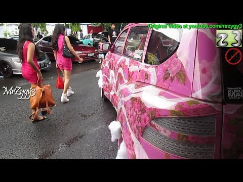 Extreme Custom Auto Modification Daihatsu Xenia By Kupu Kupu Malam