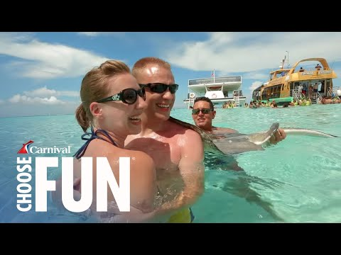 Deluxe Stingray City Sandbar in Grand Cayman | Carnival Shore Excursions