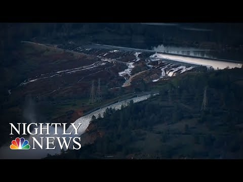 One Year Later, Oroville Dam Crisis Still On Residents' Minds | NBC Nightly News