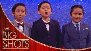 TNT Boys Sing A Cappella | Little Big Shots
