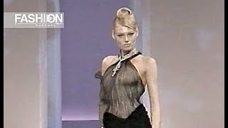 THIERRY MUGLER Fall 1999 2000 Haute Couture Paris - Fashion Channel