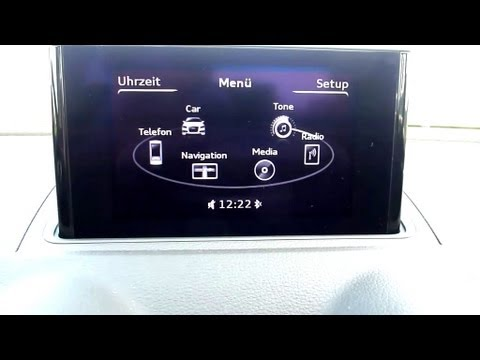 2012 audi a3 2 0 tdi ambition multi media interface mmi 6 11 youtube. Black Bedroom Furniture Sets. Home Design Ideas