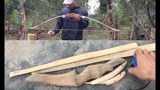 Cách làm cung tên thể thao tre cực đẹp 😍 ( bows and arrows sports )