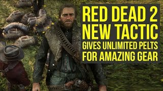 Red Dead Redemption 2 Tips And Tricks - UNLIMITED Perfect Pelts For Amazing Items (RDR2 Tips)