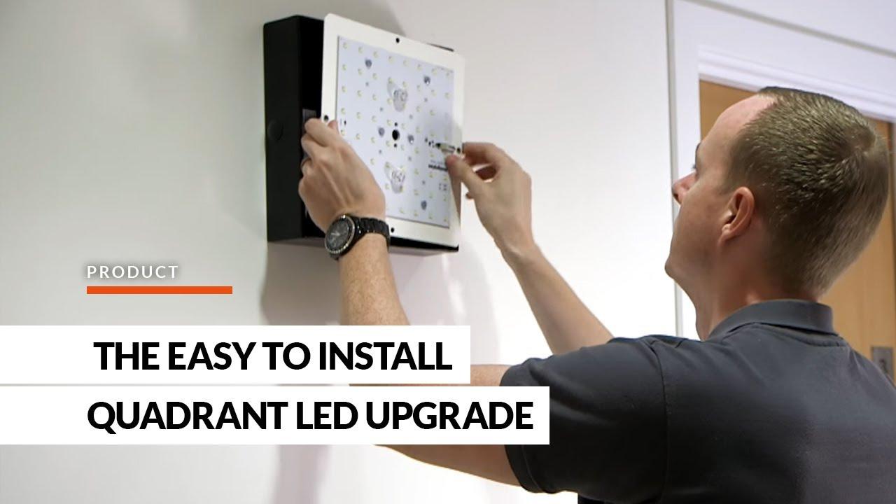 QuadRetro The easy to install Quadrant LED upgrade from Designplan Lighting - YouTube & QuadRetro The easy to install Quadrant LED upgrade from Designplan ... azcodes.com
