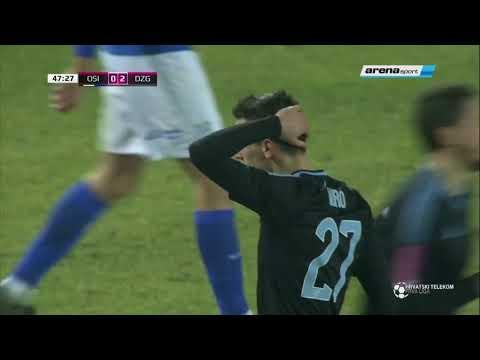 HNL: Osijek - Dinamo (10.02.2018.)