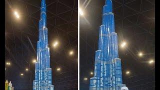 lego bricks structures - boorj khalifa - tallest tower