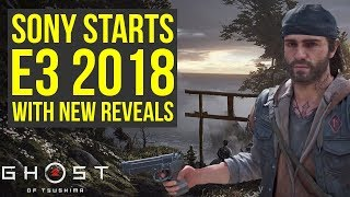 Sony E3 2018 Begins With New Reveals Everyday & New Ghost Of Tsushima Shots (e3 2018 Sony)