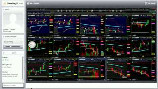 Binary Options Signals - LIVE Trading Session by Franco