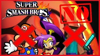 10 Characters Who WILL NOT Be in Smash Bros Ultimate - ThePowerBauer2