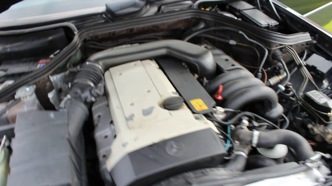 mercedes e320 engine youtube mercedes e320 engine