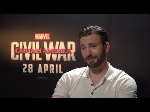 Captain America: Civil War Cast Interview - Chris Evans, Joe Russo