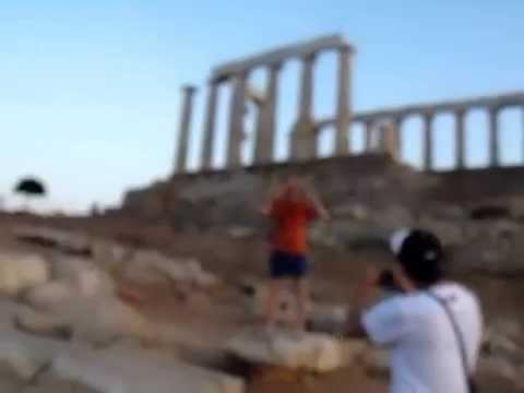 Sounion Greece (The Temple of Poseidon)