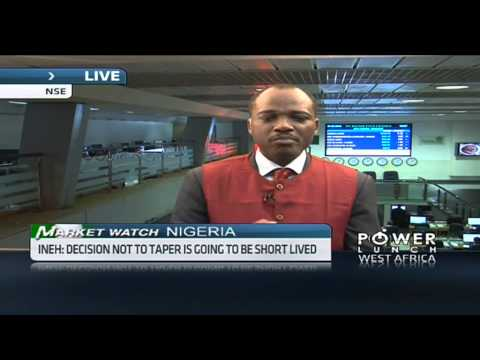 Nigerian equities market up in early trade