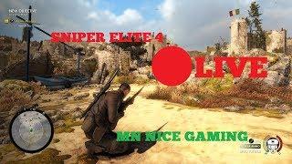 Sniper Elite 4 Campaign Live