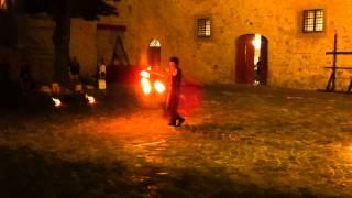 Palio dei Conti Oliva 2015 - Piandimeleto - TOI AHI - Danza del Fuoco 2