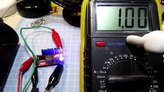 中華発送  LM2596Sを使った定電流回路がついた降圧電源モジュール