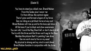 Brand Nubian - Brand Nubian (Lyrics)