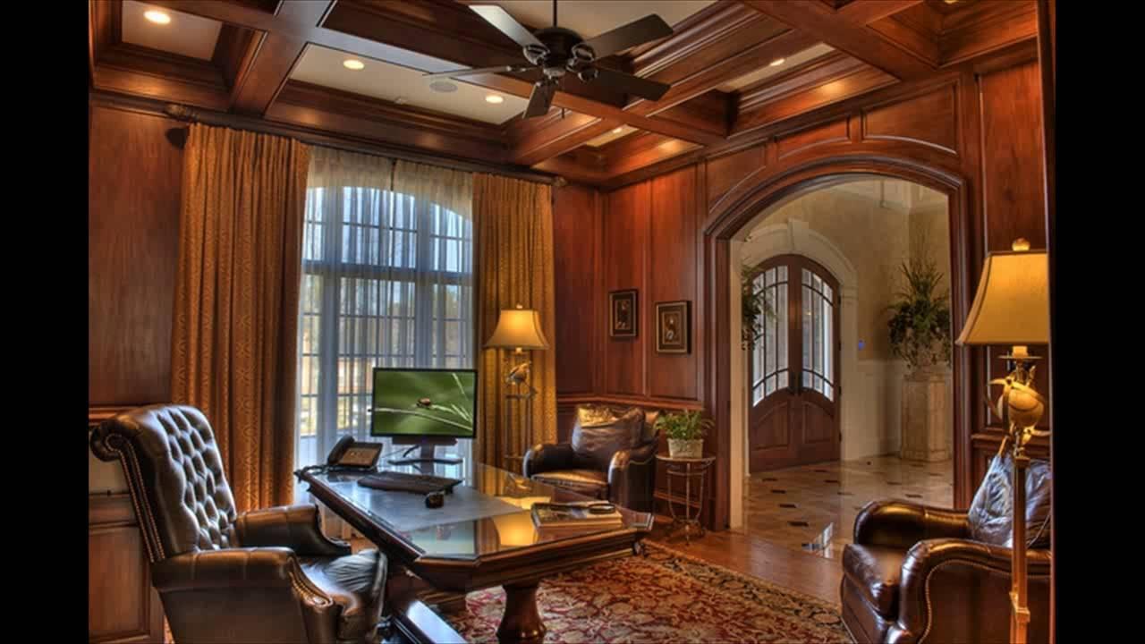 19 Dramatic Masculine Home Office Design Ideas