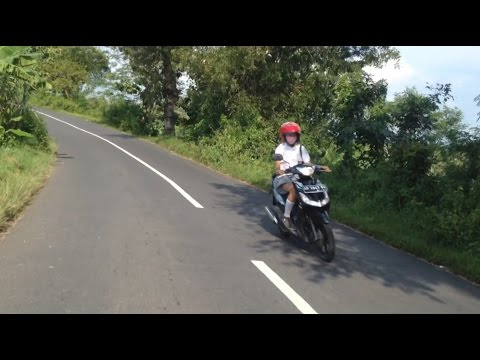 Download Touring Lokal Mulusnya Paha Cewek SMA    Yamaha New Scorpio Z