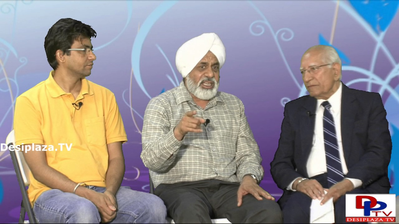 Part 2. Dr.Shivraj Tyagi of Sant Nirankari Mission giving interview to Desiplaza TV