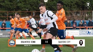 Braintree Town 1-0 Salford City | The National League 09/02/18