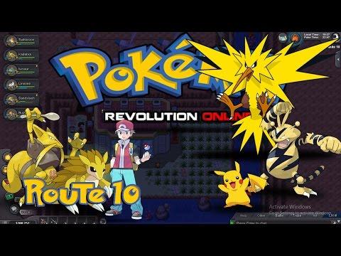 Pokemon Revolution Online PRO 2017 - Kanto - Route 10 & Power Plant