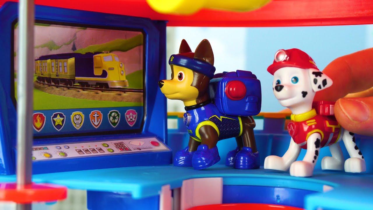 Paw Patrol & Peppa Pig बच्चों के लिए ड्रैगन बचाव मिशन!