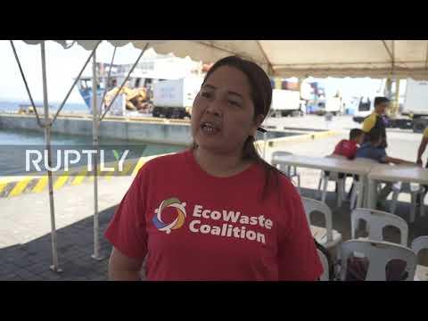 Philippines: Manila ships back 25 tonnes of Hong Kong waste