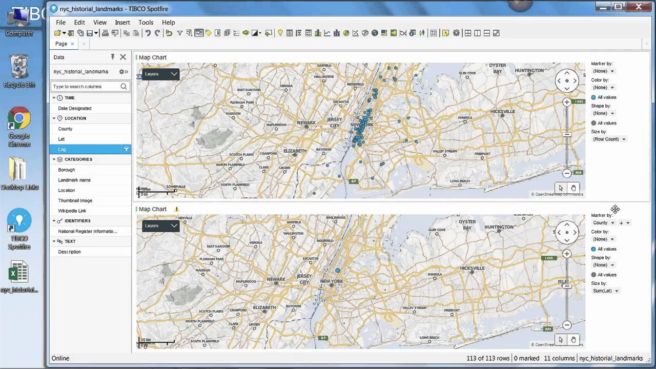 How to plot coordinates on a spotfire map chart youtube how to plot coordinates on a spotfire map chart geenschuldenfo Gallery