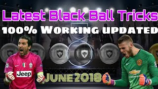 Pes 18: How black ball always Using Latest Black Ball tricks Pes 18 | Latest June 2018 update Pes 18