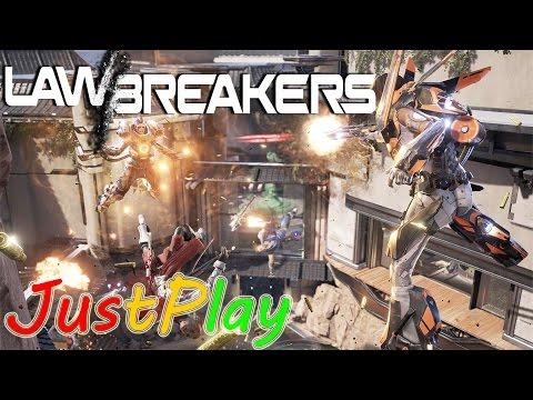 Первый взгляд: LawBreakers - Альфа тест [На русском языке]