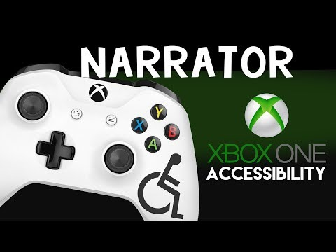 XBOX ONE Accessibility - Narrator - The Blind Life