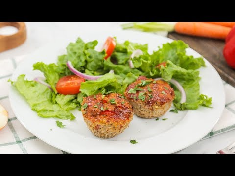 Turkey Quinoa Meatloaf Muffin Recipe | Healthy Meal Plans
