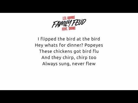 Lil Wayne Ft Drake - Family Feud Lyrics