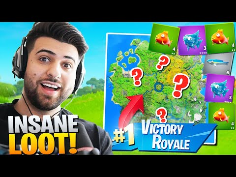 Epic CHANGED This Drop Spot And Made It BROKEN! (Best Landing Spot) - Fortnite Battle Royale