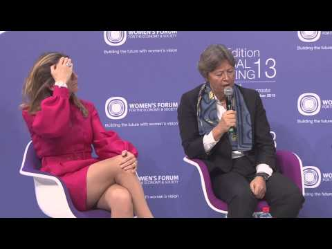 Women's Forum Global Meeting 2013 - More women leaders in the workplace: How can CEOs lean in?