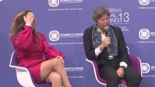 Women's Forum Global Meeting 2013 - More women leaders in the workplace: How can CEOs lean in? thumbnail