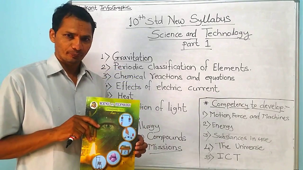 10th Std New Syllabus Science and Technology Part 1 Book Review