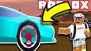 "FIDGET SPINNER RIMS IN ROBLOX! - ""JAILBREAK UPDATE"""