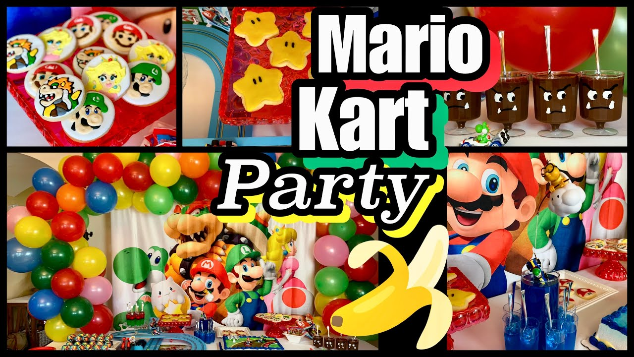 Mario Kart Party Style My Sweets Youtube