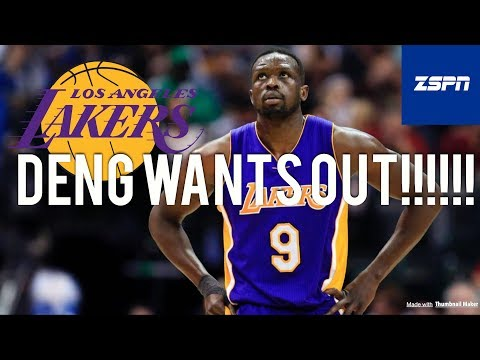 Luol Deng Seeking a Trade or Buyout from Lakers