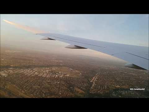 QANTAS Boeing 787-9 Dreamliner In flight Takeoff Melbourne International Airport